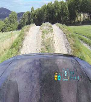 Land Rover demos invisible bonnet / car hood (w/ video)