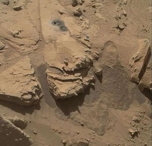 Mars rover Curiosity wrapping up waypoint work