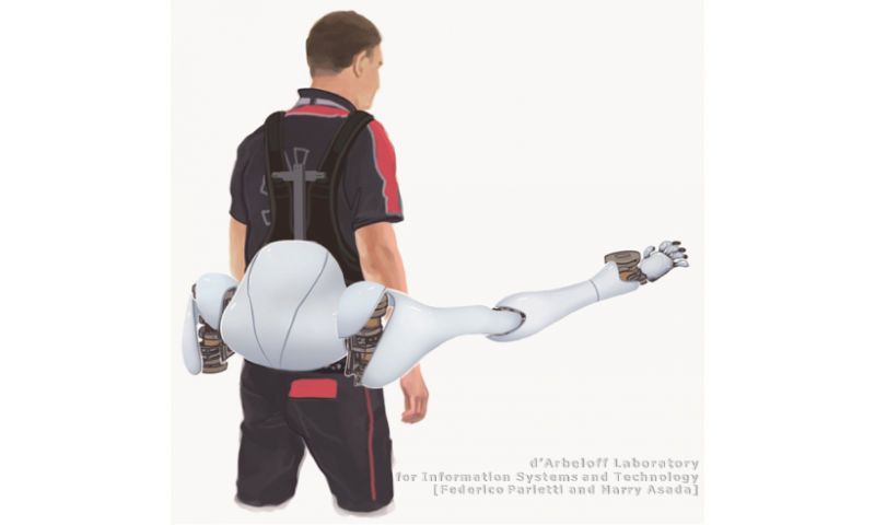 MIT lab designs workload-sharing robotic limbs  (w/ Video)