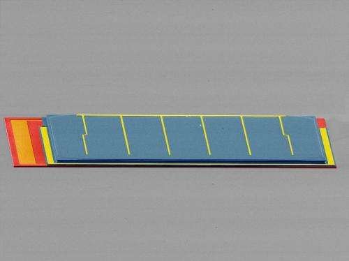 Multilayer, microscale solar cells enable ultrahigh efficiency power generation