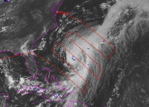 NASA begins hurricane mission with Global Hawk flight to Cristobal