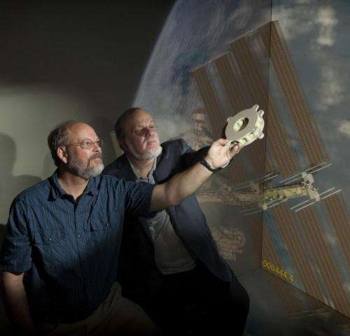 NASA boards the 3-D-manufacturing train