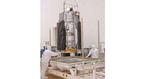 NASA carbon-counting satellite arrives at launch site
