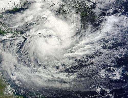 NASA catches Tropical Cyclone Ita near Papua New Guinea