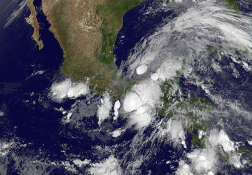 NASA infrared imagery sees heavy rain potential in Tropical Depression 2E