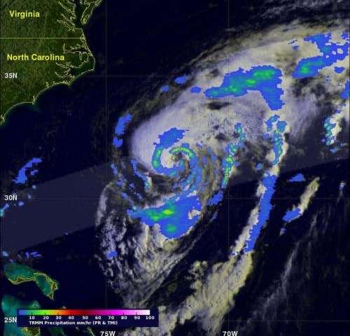 NASA's TRMM analyzes Hurricane Cristobal