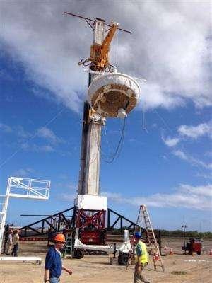 NASA to test giant Mars parachute on Earth