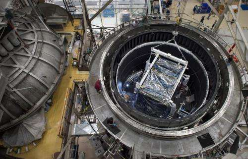 NASA Webb's heart survives deep freeze test