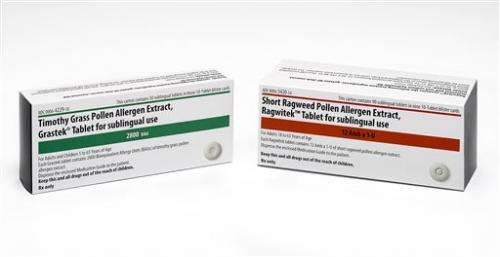 New allergy tablets offer alternative to shots