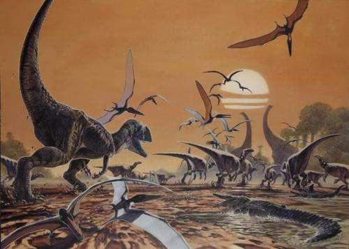 New dino-book highlights Britain's 'Three-rex'