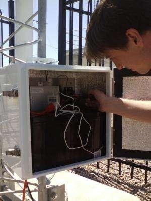 New soil moisture sensor tracks drought conditions in Arizona, Mexico