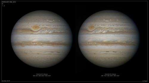 New storms on Jupiter look like Mickey Mouse