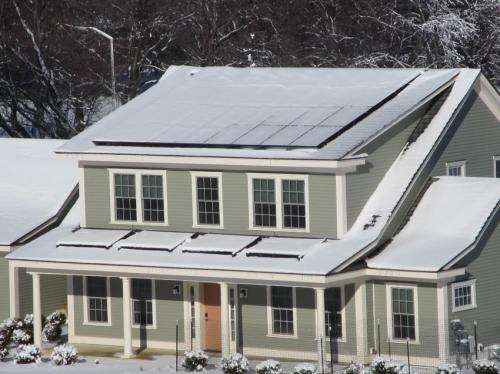 NIST test house exceeds goal; ends year with energy to spare