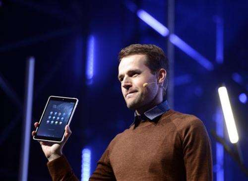 Nokia plots comeback with Android tablet (Update)