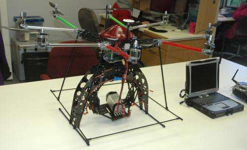 Octocopter helps forestry research take flight