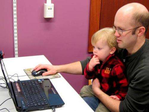 Online lab to study early childhood learning