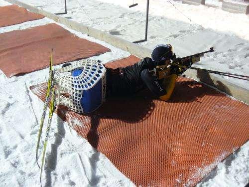 Optimized ski sled for Paralympics athlete