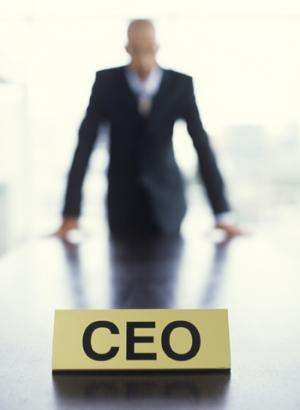 Performance measures for CEOs vary greatly, study finds
