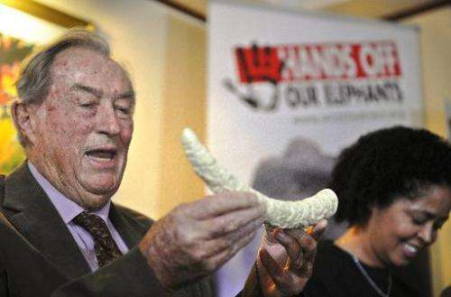 Renowned Kenyan palaeontologist, Richard Leakey, gives a press conference on March 19, 2014 in Nairobi