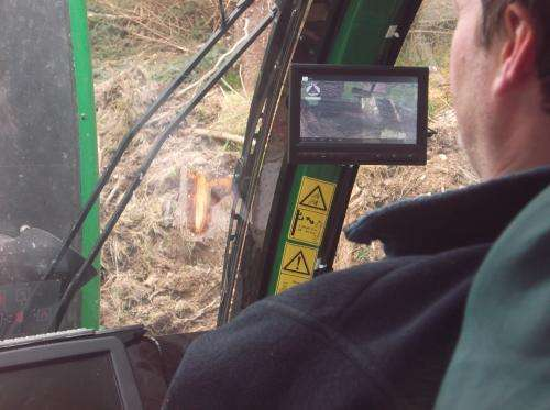Satellites for smart logging