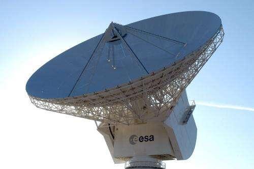 Schoolchildren beam selfies into space via ESA tracking station