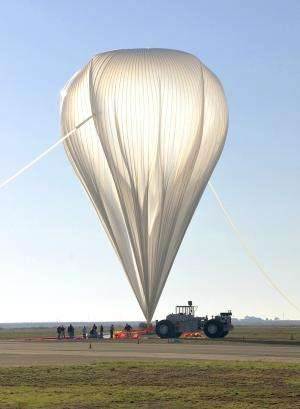 Scientific balloon set to measure gamma rays from the Crab Pulsar