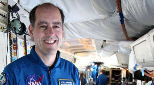 Scientist will observe meteor shower from above the clouds
