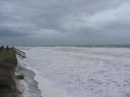 Sea level variations escalating along eastern Gulf of Mexico coast
