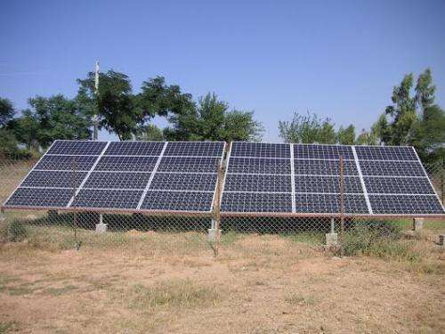 Solar-powered irrigation systems in Pakistan