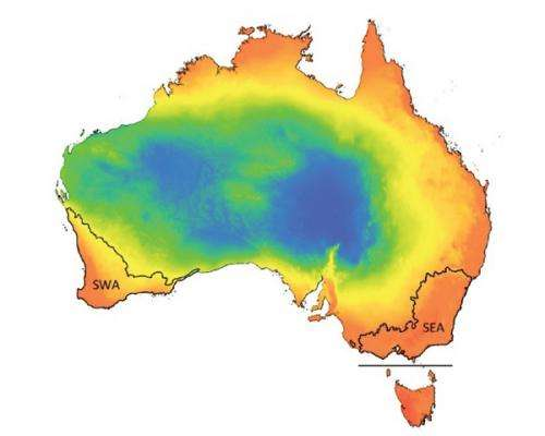 South-west diversity still a mystery but comparison lends clues