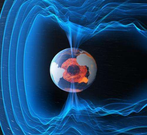 Swarm reveals Earth's changing magnetism