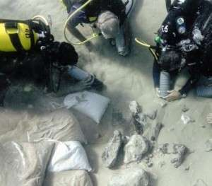Underwater excavation reveals lost Levantine village