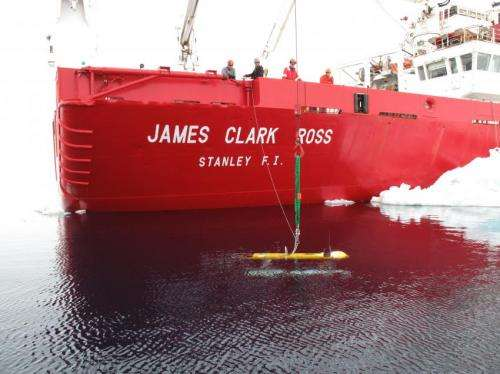Underwater robot sheds new light on Antarctic sea ice