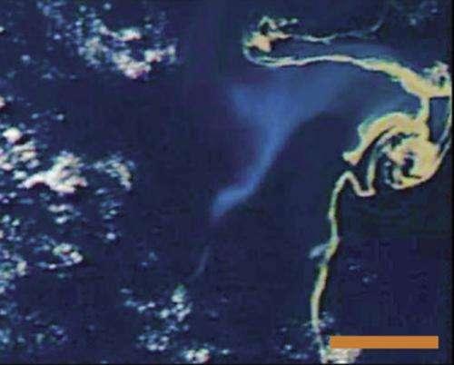 Underwater volcano creates huge floating islands of rock, disrupts shipping