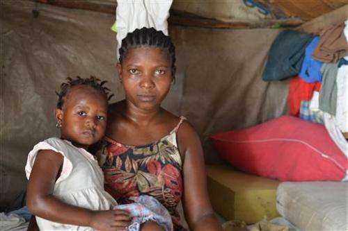 Virus strikes hard in Haiti's crowded shantytowns