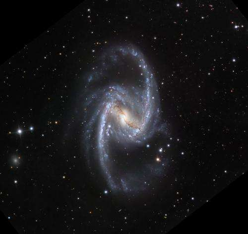 When did galaxies settle down?