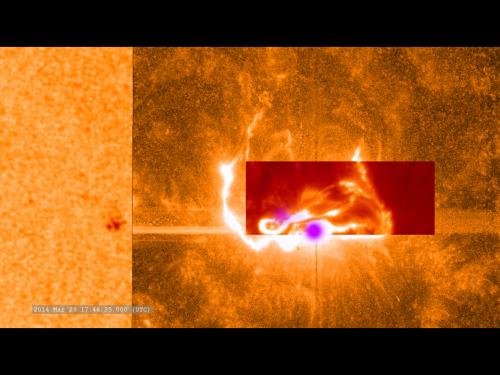 International team capture detailed footage of an X-class solar flare