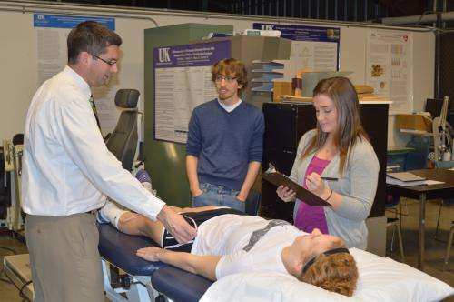 Researcher studies muscle injuries, shares findings with community