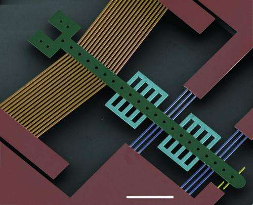 Thin diamond films provide new material for micro-machines