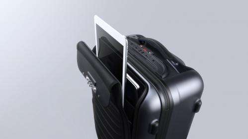 A carry-on that charges your smartphone (and more)