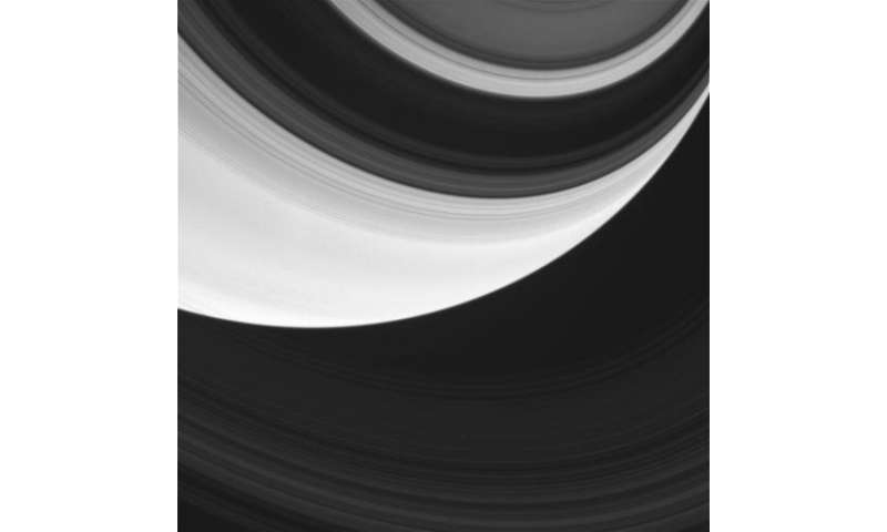 Amazing raw Cassini images from this week