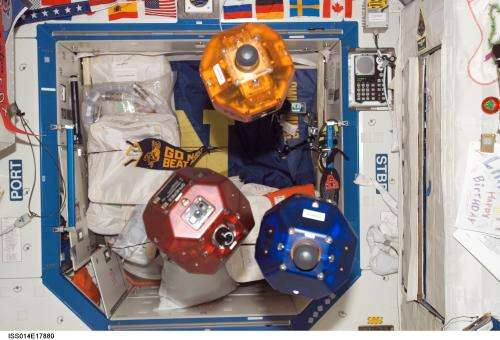 """Astronauts to test free-flying """"housekeeper"""" robots"""