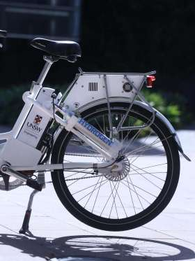 Australia's first fuel cell bicycle