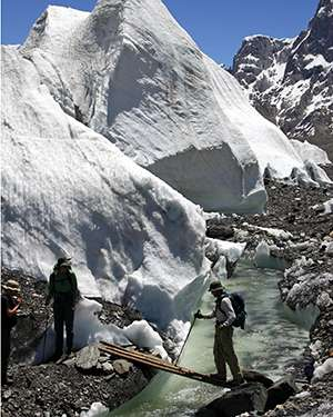 Better prediction of glacial response to global climate change.