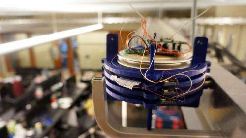 Changing temperature powers sensors in hard-to-reach places