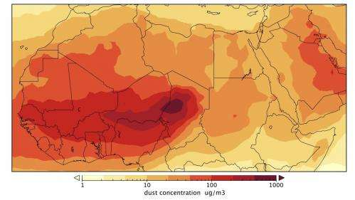 Climate conditions help forecast meningitis outbreaks