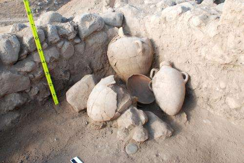 Cultural connections with Europe found in ancient Jordanian settlement