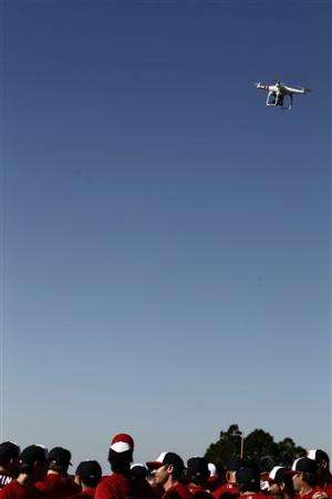 Drone sightings up dramatically