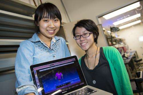 Engineering students invent virtual fitting room for online shoppers