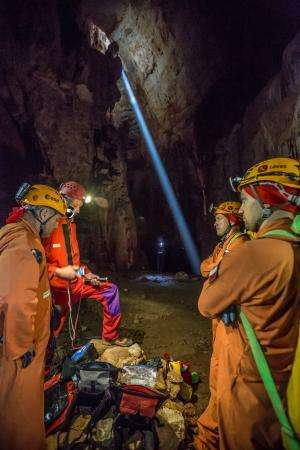 ESA's five 'cavenauts' set to explore the caves of Sardinia, Italy